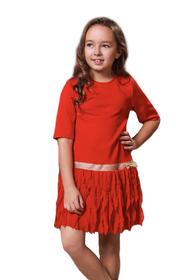 Sukienka wizytowa - czerwona