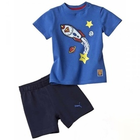Komplet Puma Fun Superbaby Set Junior bluzka spodenki