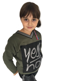 bluza  khaki YES NO