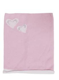 Komin - tuba różowy - biały   wiosna