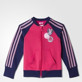 Bluza adidas Disney Minnie Full Zip różowa