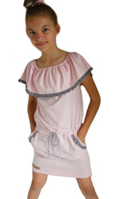 Sukienka hiszpanka pompony