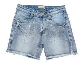 Spodenki krótkie jeansowe 104-152