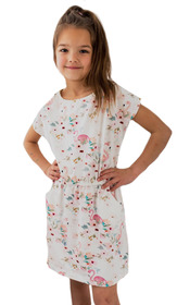 Sukienka w flamingi